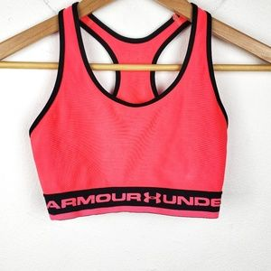 Under Armour | Pink Black Racerback Sports Bra